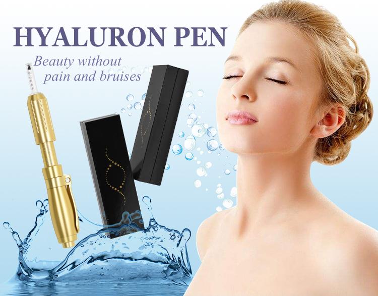 ヒアルロンためヒアルロン酸皮膚充填剤または VC インジェクション高圧針メソ銃メソセラピー