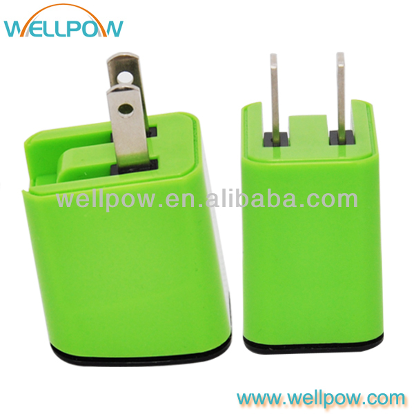 mini single usb travel wall charger for callphone/gps/mp3/mp4