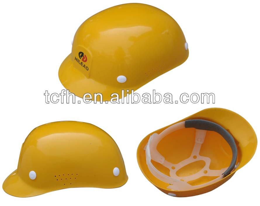 Durable working bump cap/FRP material safety helmet