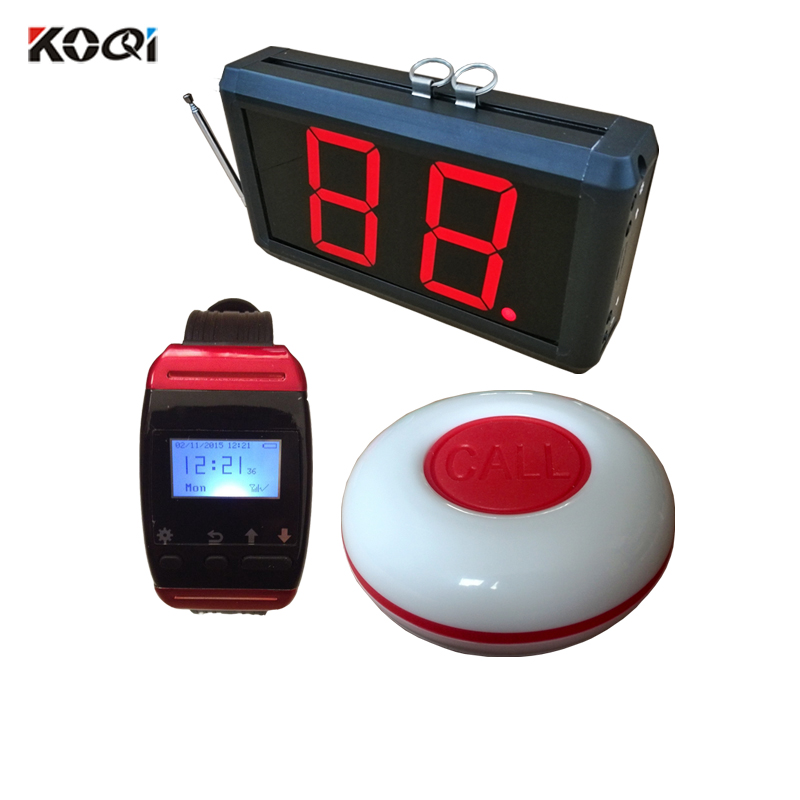 100% Newest Brand Buzzer And Materials Electronic Restaurant Pager Waiter Buzzer Call System
