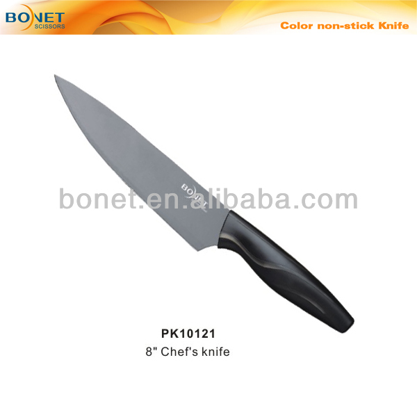 PK10121 FDA&LFGB color blade non-stick kitchen knife