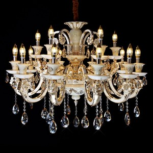 sale retailer d1db6 c97de 18 lights white plastic chandelier, European antler hooks for chandelier  crystals