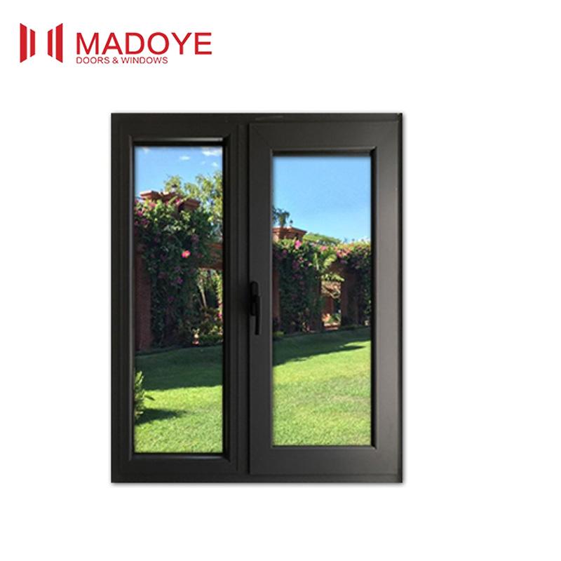 Aluminum Glass Shutter Aluminium Double Glazed Windows And Doors