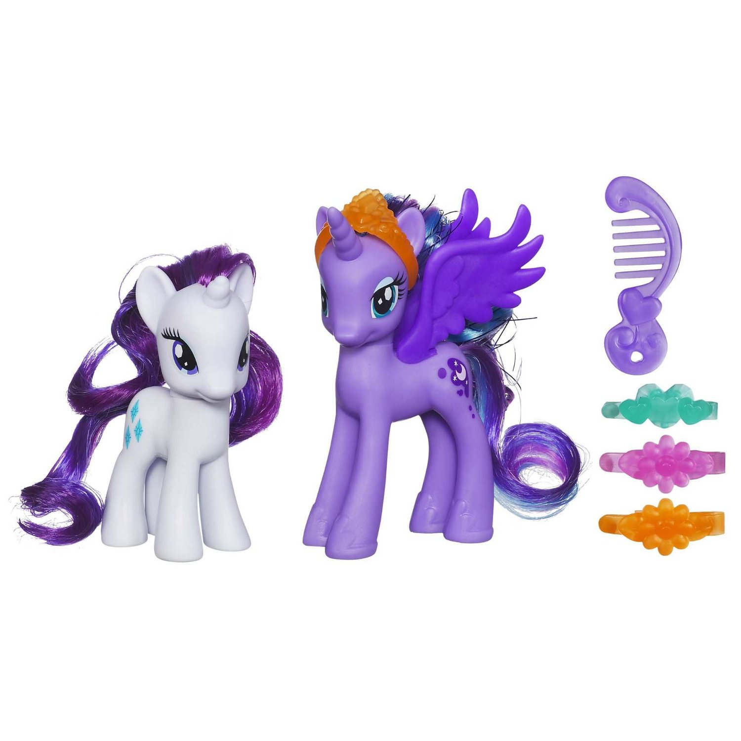 Buy My Little Pony Princess Luna And Rarity Figures In Cheap Price