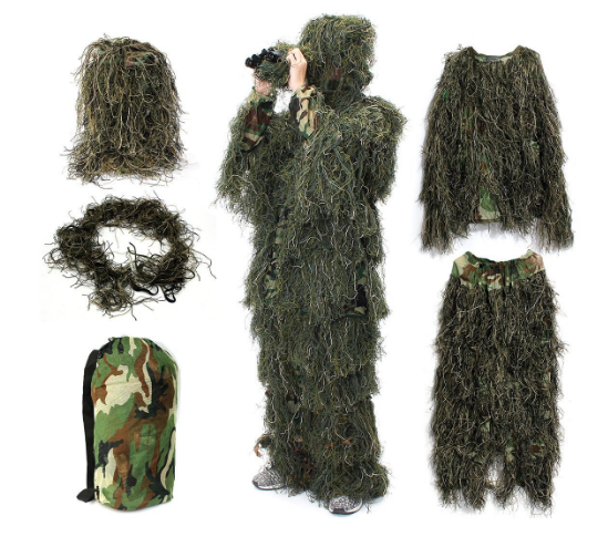 Bird watch ghillie suit
