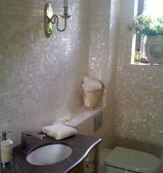 ... Natural White River Mother Of Pearl Washroom Wall Tile ... Part 81