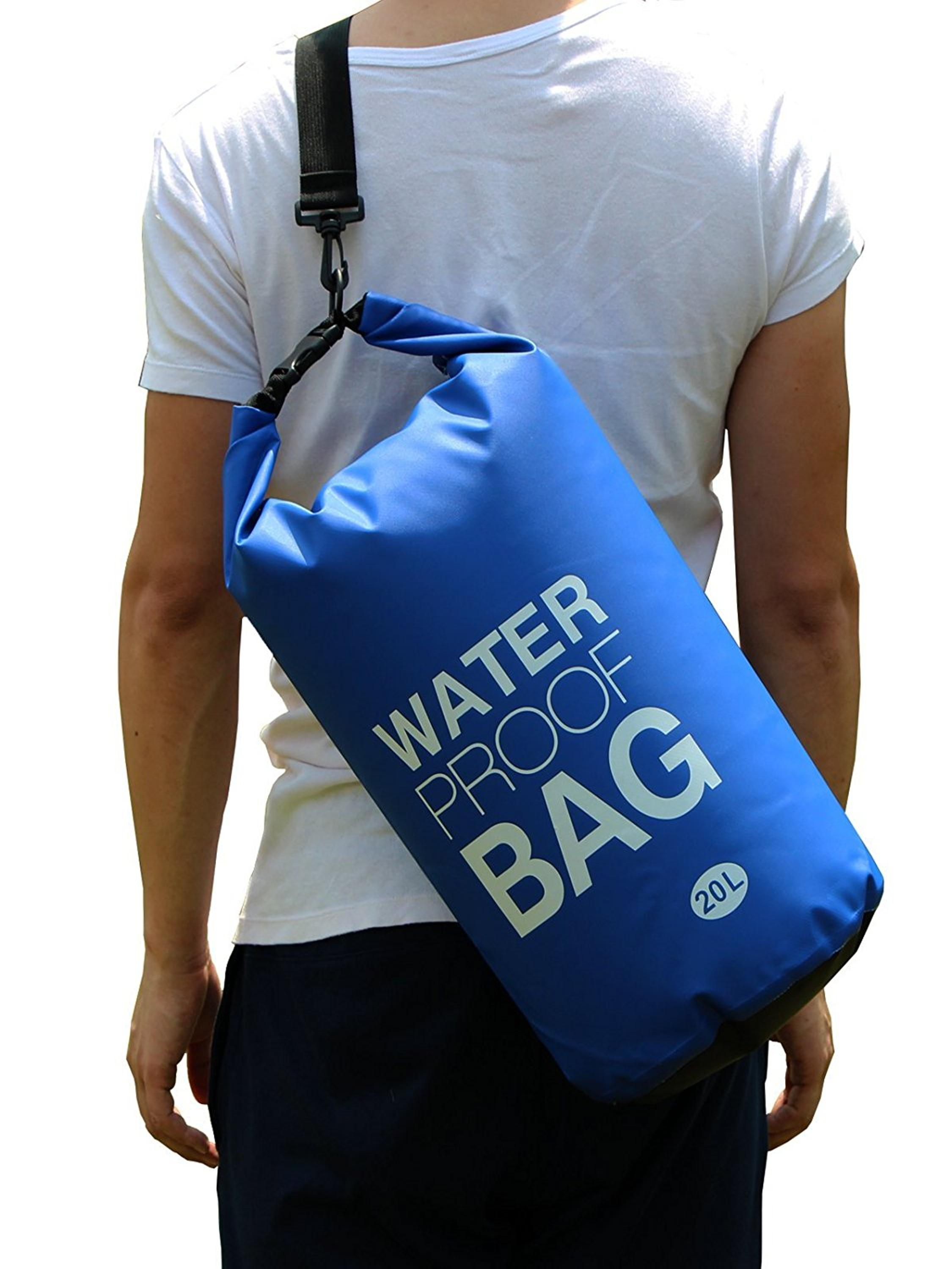 Hot Selling Royal Bue PVC Tarpaulin Ocean Pack 20L Waterproof Dry Bag