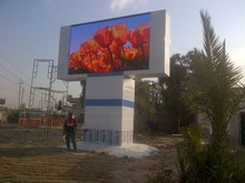 high brightness outdoor led screen panel/12mm full color messege led panel board/china led information signs