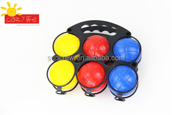Factory supply 2016 Popular High Quality plastic Bocce Ball
