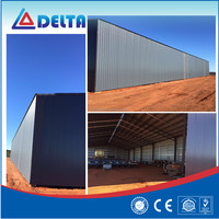 Prefabricated steel bar storage warehouse workshop
