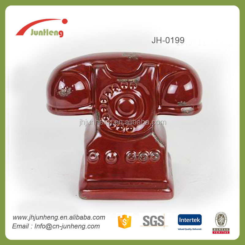 Home decor ceramic telephone roman statue, home accesories, china imported home decoration