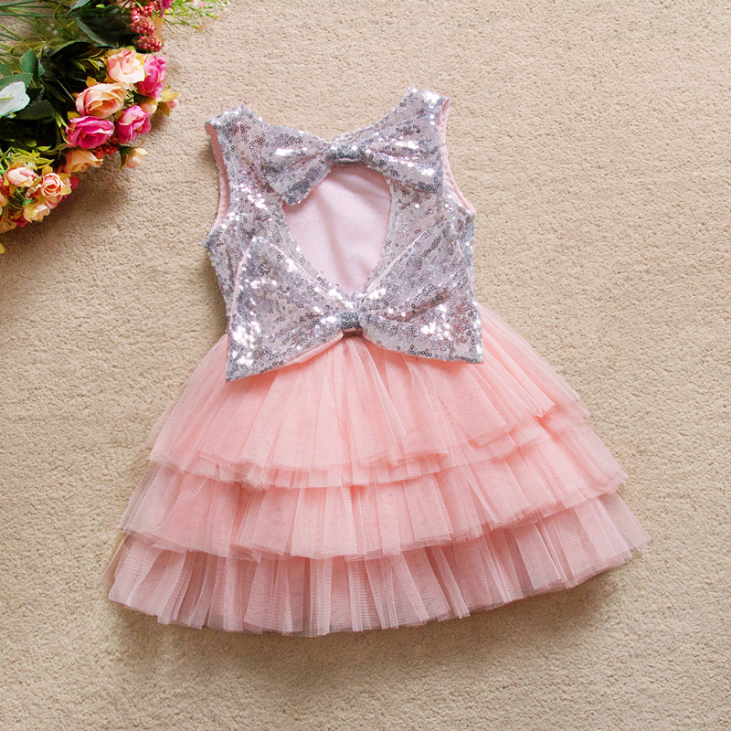 Bebé niña ropa sequin Tutu vestido para niños partido desgaste ...