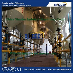 Supply Edible Oil Seeds Pretreatment, Oil Milling Machine, palm kernel oil refining machine with CE-SINODER Brand