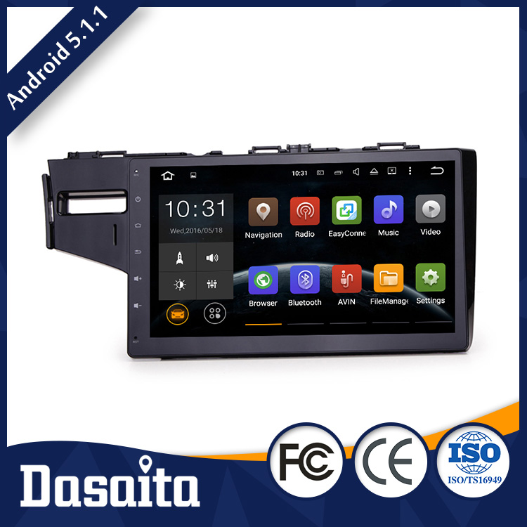 10.2 Inch car radio dvd with gps mirror phone connection for honda