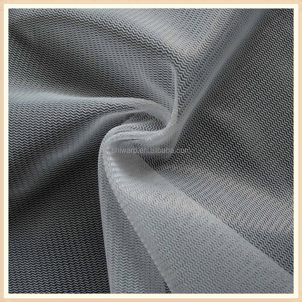 k 30GSM polyester mosquito net fabric mesh fabric for windows textile factory