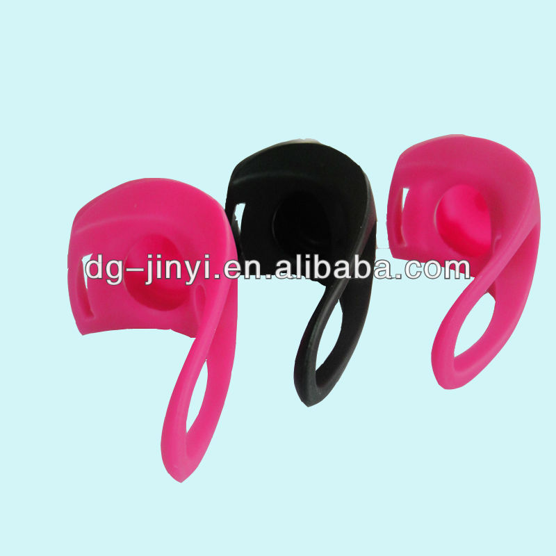 silicone bicycle tail light case, lampshade