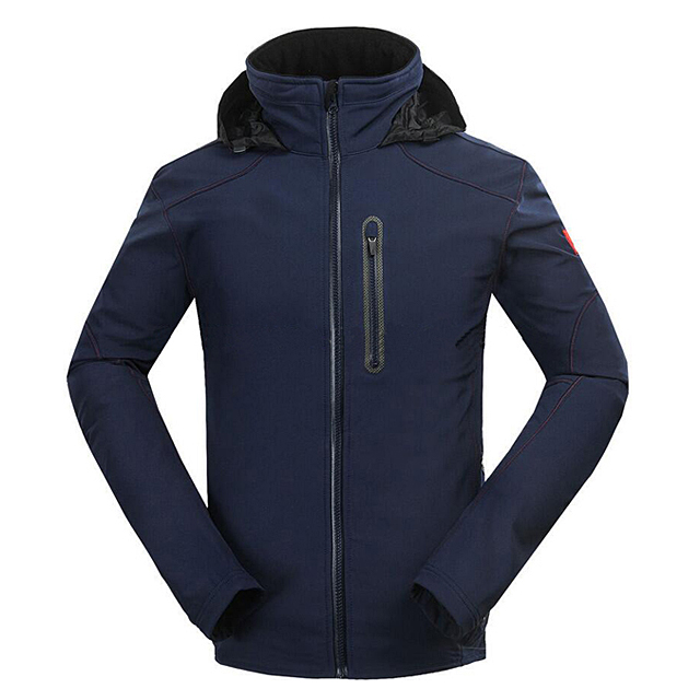 Men's Softshell Jacket Waterproof Breathable Outdoor Hiking Skiing Camping Jacket