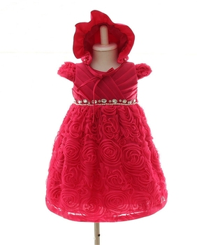 584eb2eab For 3-12 Month Old Little Kids Evening Dress Baby Girl Party Dress ...