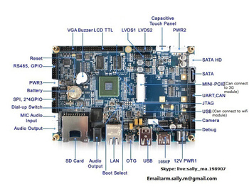 Odm/oem Cortex-a9 Arm Cpu Board Support Linux/android - Buy Arm Cpu  Board,Cortex Maniboard,I mx6 Single Board Computer Product on Alibaba com