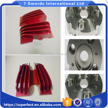 Customized Aluminum Air Cylinder parts Aluminium fabrications service