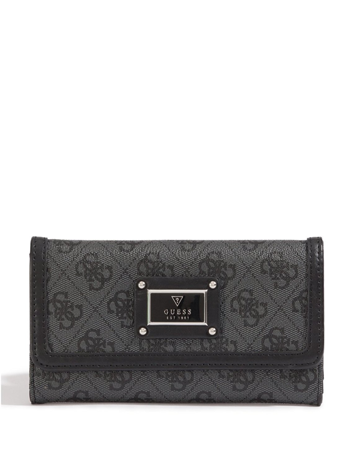 c171ddefbf Get Quotations · GUESS Womens Scandal SLG Slim Clutch