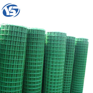 2x4 pvc coated low carbon welded wire mesh