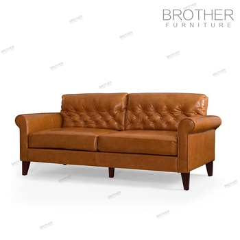 Modern Design Leather 3 Seat Office Waiting Room Sofa For Office Use