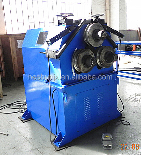 Aluminum hydraulic pipe and profile bending rolling machine