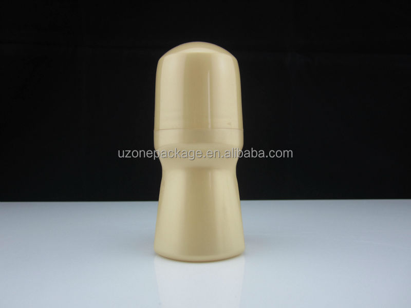 Plastic roll on bottles for deodorant 90ml