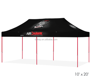 3x6m hexagonal frame pop up canopy water proof folding tent gazebo