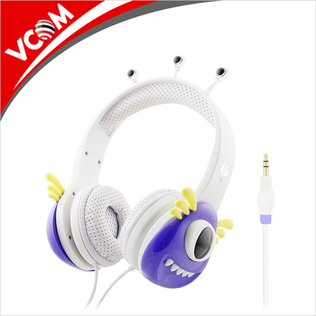 Kids Electronics Free Sample Kids Headphones For Toddler Baby School