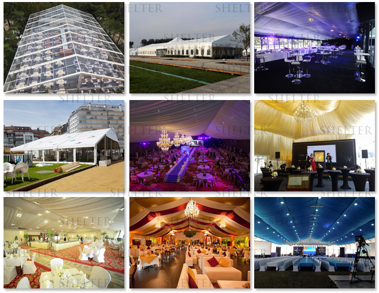 15m X 20m Marquee Tent For Wedding Party For Sale With