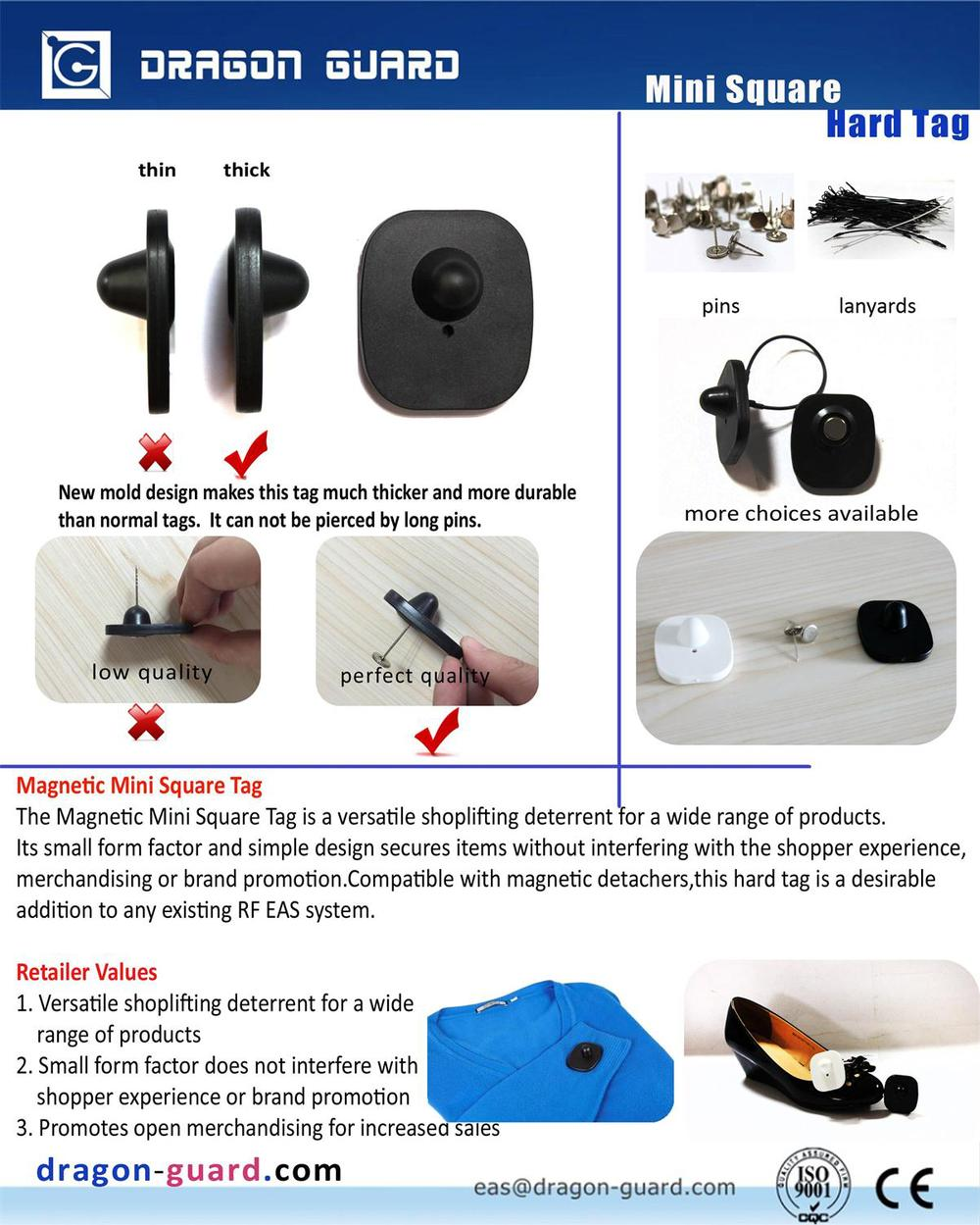 Security Tags For Merchandise : Eas garment store retail remove security zara clothing tag