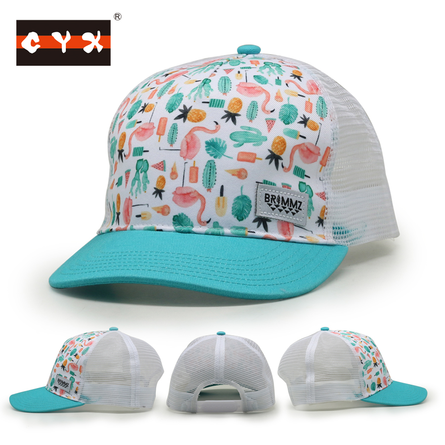 Shenzhen Factory Custom Design Toddler/Infant Trucker Hat Baby Hat/Cap