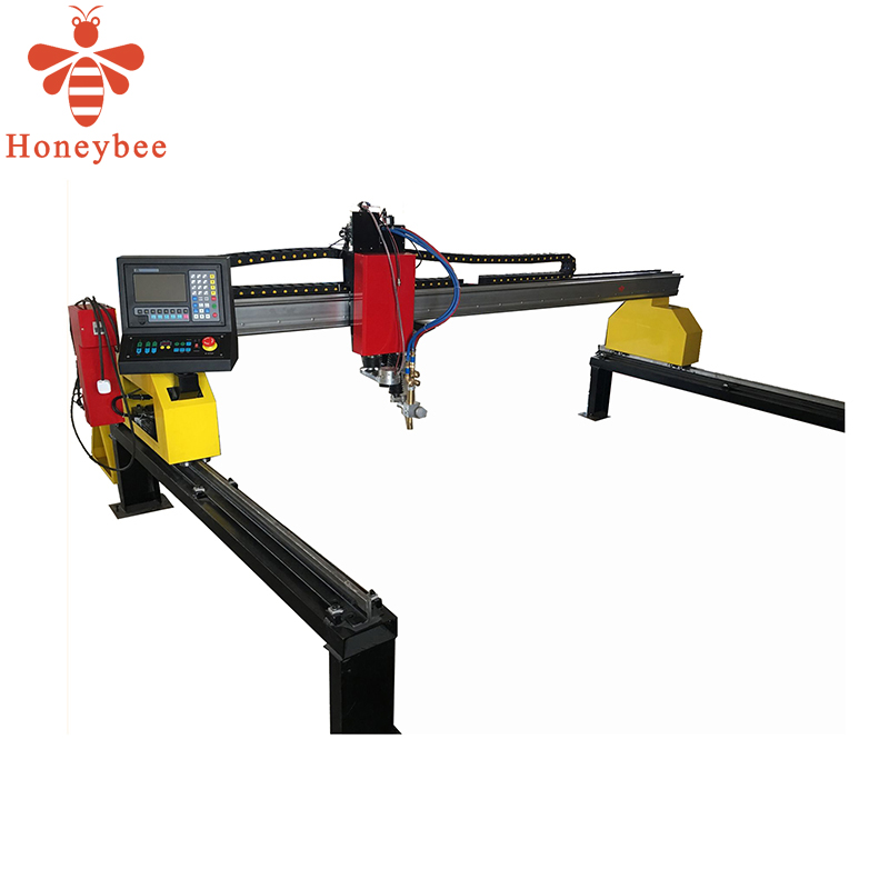 auto cnc aluminium steel gas cutter with plasma torch