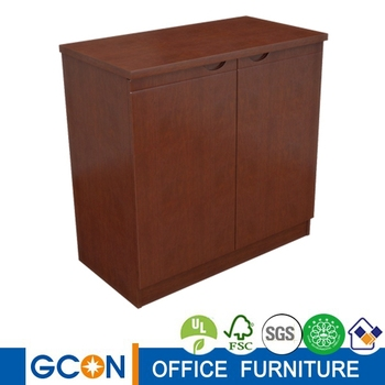 Two Doors Wood Movable Office Storage Cabinet - Buy Office Coffee  Cabinets,Office Tea Cabinet,Office Cabinet Product on Alibaba com