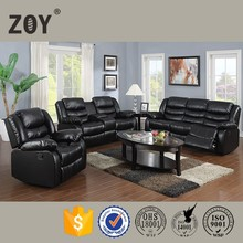 morden exotic wood frame popular home theater recliner sofa Zoy-9393F