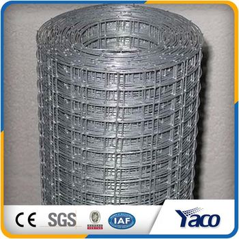 1 4 Inch Galvanized Welded Wire Mesh Fence In Iron Wire Mesh - Buy ...
