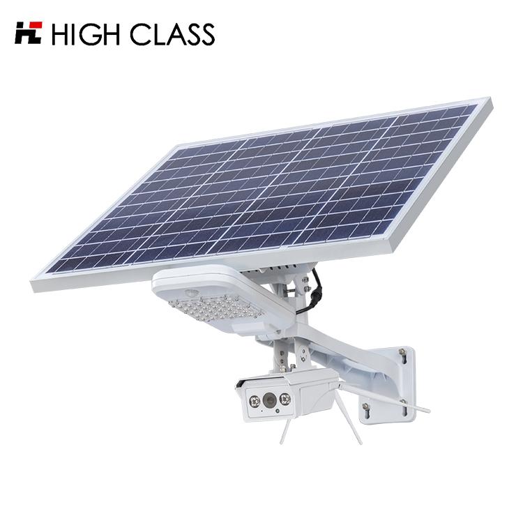 HIGH CLASS Outdoor waterproof ip66 20watt 30watt led street light with cctv