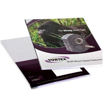 Custom cheap color booklet brochure catalog printing