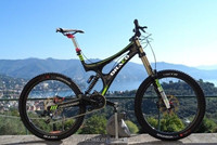 Draco downhill bike/carbon fiber downhill mountain bike/Full carbon DH bike on sale
