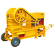 Aggregate Stone Small Jaw Crusher with Diesel engine Drive Motor portable rock crusher