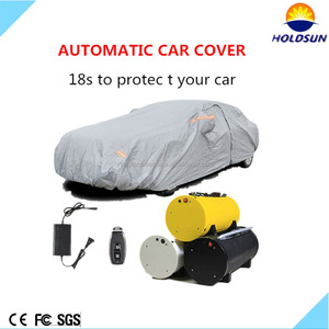 China manufacture crazy selling car cover automatic taffeta 190t