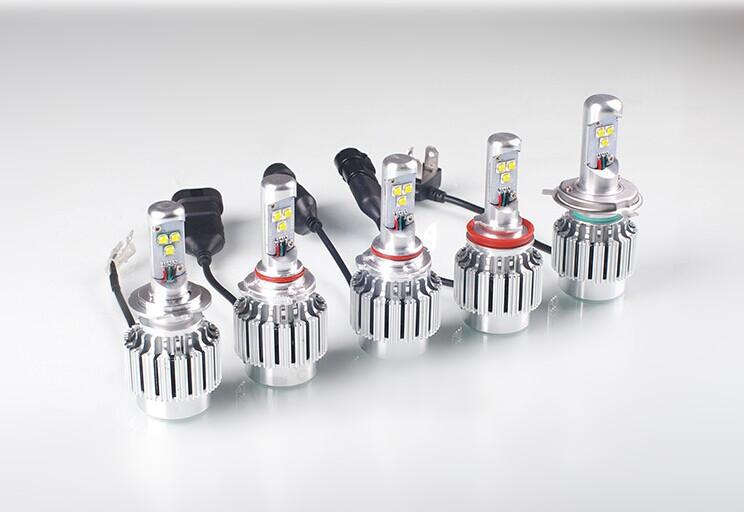 Led Headlight Cree Heat Sink Bulb H3 Led Headlight