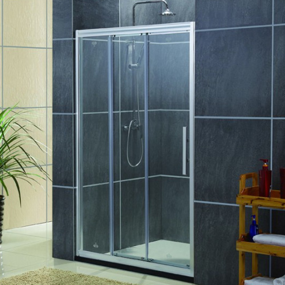 3 Doors Sliding Shower Door Fashion Frame Sliding Shower Screen ...