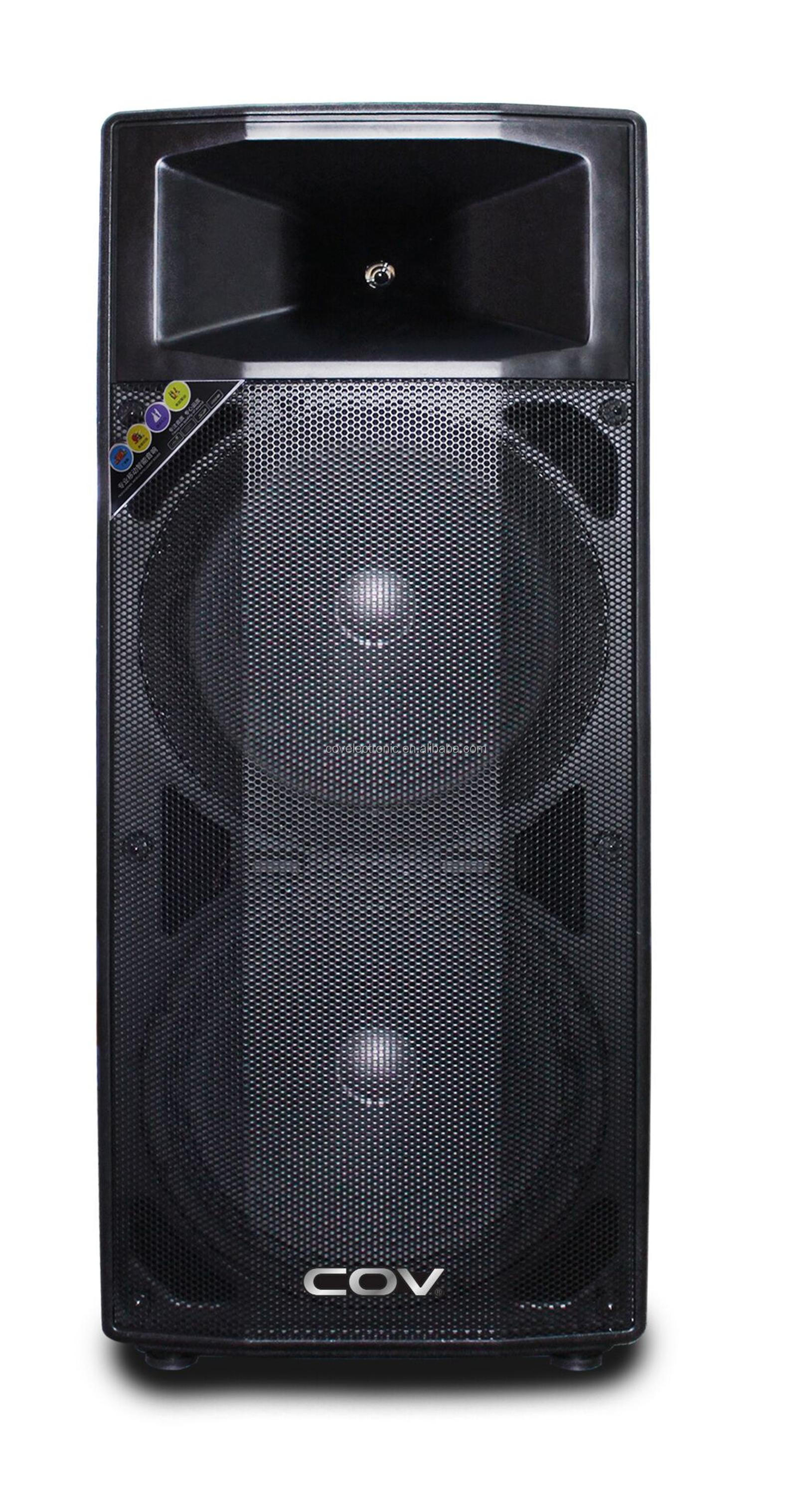 COV manufacturer professional wifi dj powered sound box speaker