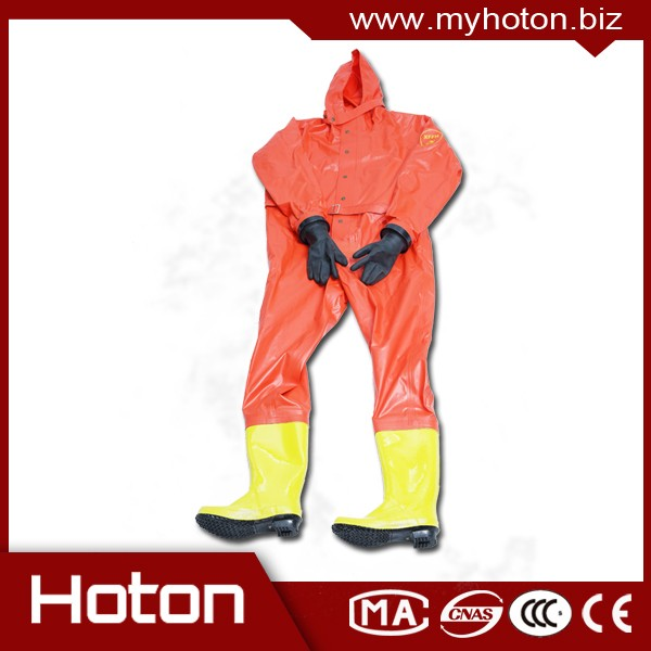 Saled chemical suits for fireman safety working