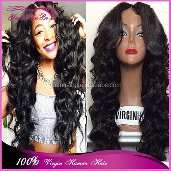 RPG SHOW WIG 100 real human hair virgin brazilian loose wavy full lace wig  lace d2aa4d012