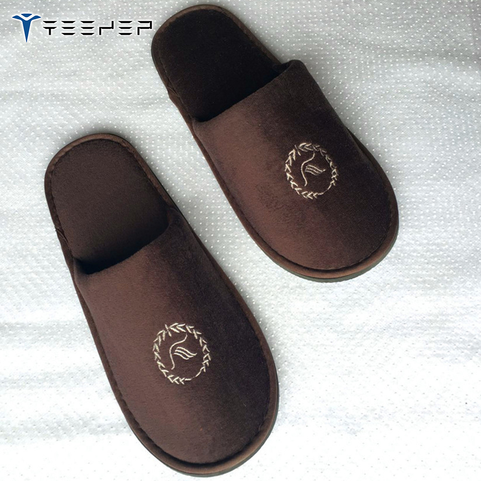 Cheap Hotel Shampoo/hotel slipper making machines/bathroom hotel shampoo spa slippers disposable