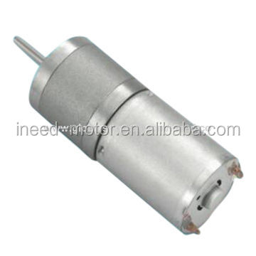 Gear Motor 12V DC with Low Speed 4800 Rated current 160mA Geared Motor